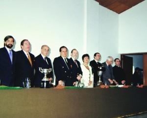 Mauricio Rueda Beltz en el Consejo Superior 2000